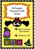 Miniature Halloween Themed Flash Cards