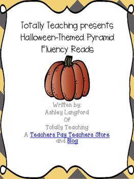 Halloween-Themed Fluency Pyramids