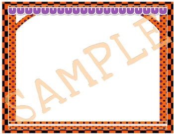 Halloween-Themed Frames