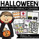 Halloween Themed Games and Centers {kindergarten}