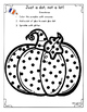 Halloween Themed Glue Dot Practice