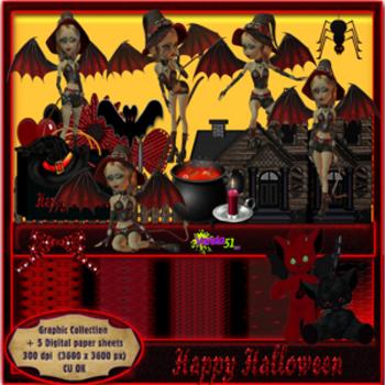 Halloween Themed Graphics