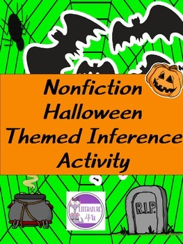 Halloween Themed Inference Group Activity