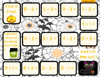 Halloween Themed Introduction to Addition and Subtraction