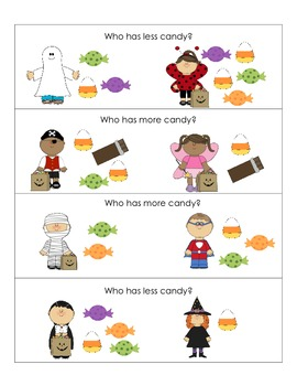 Halloween Themed Language Activities for Preschool ...
