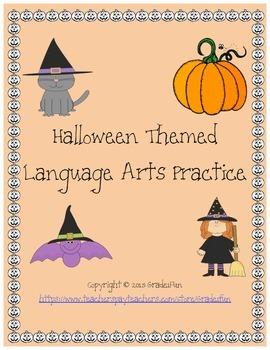 Halloween-Themed ELA Practice