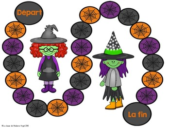 Halloween Themed Literacy Activities in French
