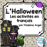 French Halloween Themed Literacy Activities