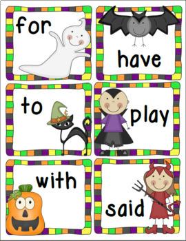 Halloween Themed Literacy Bundle
