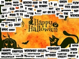 Halloween Themed Magnetic Poetry