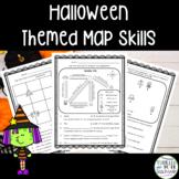 Halloween Themed Map Skill Activities