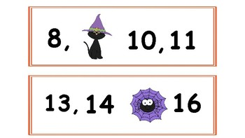 Halloween Themed Math centers