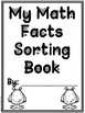 Halloween Themed Math Facts Sorting Book