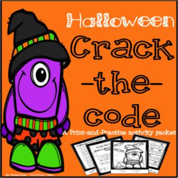 Halloween Themed Math & Literacy Packet - Print & Practice