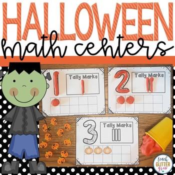 Halloween Themed Math Workstations/Centers
