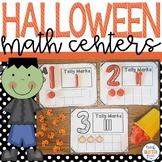 Halloween Themed Math Center Activities