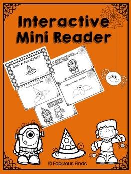 Halloween Themed Mini Reader