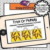 Halloween Themed Multiplication Activities For GOOGLE CLASSROOM
