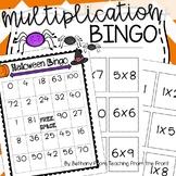Multiplication Bingo | Halloween Themed