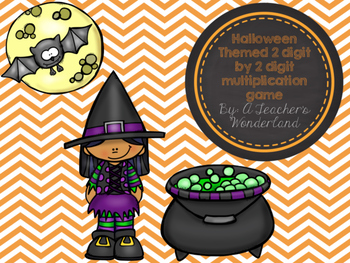 Halloween Themed Multiplication Game *FREEBIE*