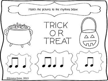 Halloween Themed Music Activities