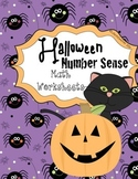 Halloween Themed Number Sense Activities