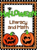 Halloween Literacy and Math