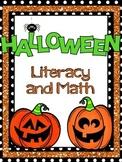 Halloween Literacy and Math