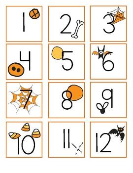 October Calendar - very cute Halloween!