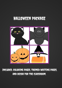 Halloween Themed Package
