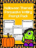 Halloween Themed Persuasive Writing Prompt Pack