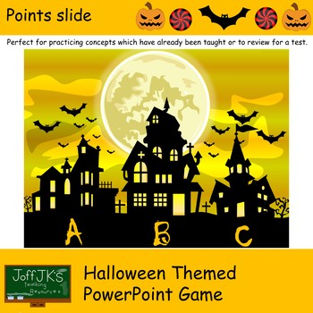 Halloween Themed PowerPoint Review Game