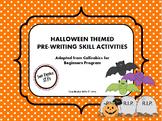 Halloween Themed Pre-Writing (Callirobics) Activities