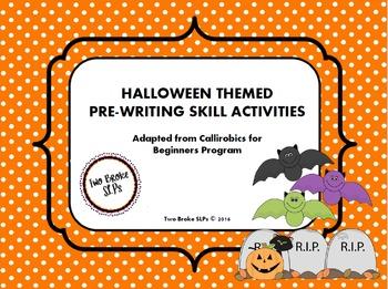 Halloween Themed Pre-Writing Activities