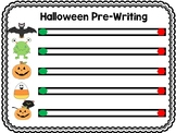 Halloween Themed Pre-Writing Practice