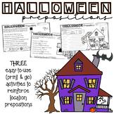 Halloween Themed Print-and-Go Preposition Practice