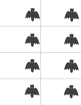 Halloween Themed Read and Write the Room -Sight Word Edition