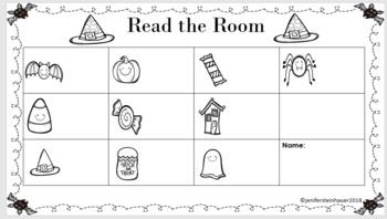 Halloween Themed: Read the Room (K.CC.A.3)