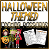 Halloween Themed Reading Passages