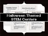 Halloween Themed STEM Centers