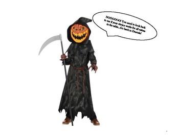 Halloween Themed Scavenger Hunt