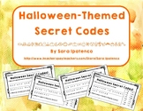 Halloween-Themed Secret Codes: Reading and Spelling Practice