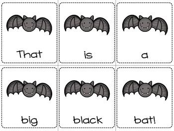 Halloween Themed: Sentence Scramble