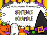 Halloween Themed: Sentence Scramble
