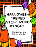 Halloween Themed Sight Word Bingo