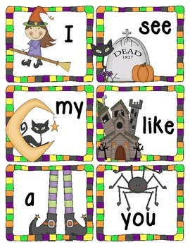 Halloween Themed: Sight Word - Write the Room
