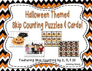 Halloween Themed Skip Counting Mega Pack!