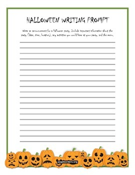 Halloween Themed Speech/Language Worksheets