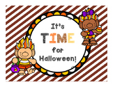 Halloween Math Task Cards, Telling Time