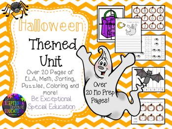 Halloween Themed Unit